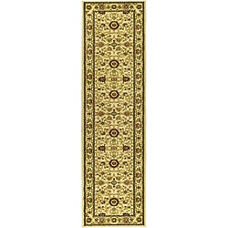 Safavieh Lyndhurst Collection Majestic Ivory/ Ivory Runner (2'3 x 16')