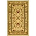 Lyndhurst Collection Majestic Ivory/ Ivory Rug (3'3 x 5'3)