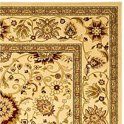 Safavieh Lyndhurst Collection Majestic Ivory/ Ivory Rug (8' x 11')