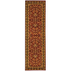Lyndhurst Persian Treasure Red/ Black Runner (2'3 x 14')