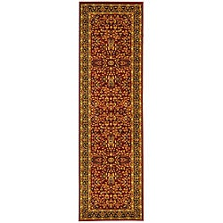 Safavieh Lyndhurst Persian Treasure Red/ Black Runner (2'3 x 16')