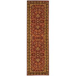 Lyndhurst Persian Treasure Red/ Black Runner (2'3 x 16')