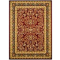 Safavieh Lyndhurst Collection Persian Treasure Red/ Black Rug (6' x 9')