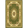 "Lyndhurst Collection Transitional Sage/Ivory Rug (3'3"" x 5'3"")"