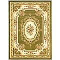 Lyndhurst Collection Sage/Ivory Area Rug (8' x 11')