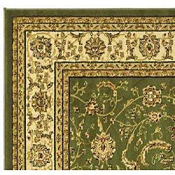 Lyndhurst Collection Traditional Sage/Ivory Runner (2'3