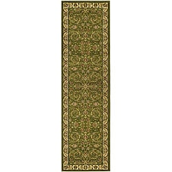 "Safavieh Lyndhurst Collection Traditional Sage/Ivory Runner (2'3"" x 16')"