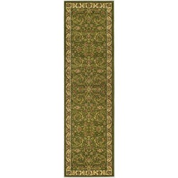 "Safavieh Lyndhurst Collection Sage/Ivory Polypropylene Runner (2'3"" x 8')"