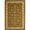 Safavieh Lyndhurst Collection Traditional Sage/Ivory Rug (5'3