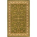 Lyndhurst Collection Sage/ Ivory Rug (6' x 9')