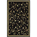 Lyndhurst Collection Black Rug (3'3 x 5'3)