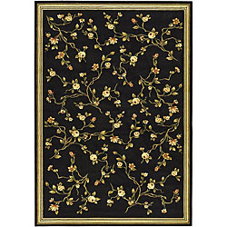Safavieh Lyndhurst Collection Black Rug (5'3 x 7'6)