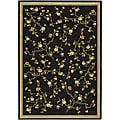 Lyndhurst Collection Black Rug (5'3 x 7'6)