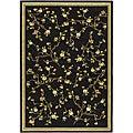 Safavieh Lyndhurst Collection Black Rug (5'3 x 7'6)