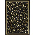 Lyndhurst Collection Black Rug (8' x 11')