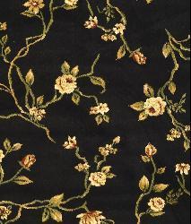 Safavieh Lyndhurst Collection Black Rug (8' Round)