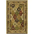 Lyndhurst Collection Multicolor/ Ivory Rug (3'3 x 5'3)