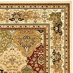 Safavieh Lyndhurst Collection Multicolor/ Ivory Rug (6' x 9')