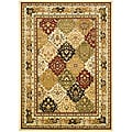 Lyndhurst Collection Multicolor/ Ivory Rug (6' x 9')