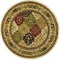 Safavieh Lyndhurst Collection Multicolor/ Ivory Rug (8' Round)