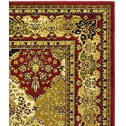 Lyndhurst Collection Multicolor/ Red Rug (3'3 x 5'3)