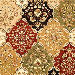 Safavieh Lyndhurst Collection Multicolor/ Red Rug (6' x 9')