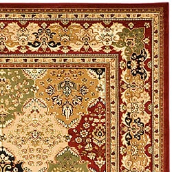 Safavieh Lyndhurst Collection Multicolor/ Red Rug (8' x 11')