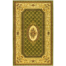 Safavieh Lyndhurst Collection Traditional Sage/ Ivory Rug (8' x 11')