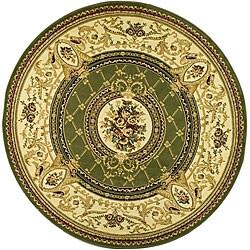 Safavieh Lyndhurst Collection Traditional Sage/ Ivory Rug (8' Round)