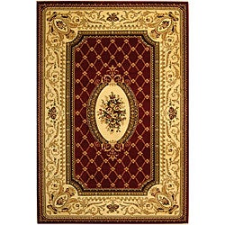 Safavieh Lyndhurst Collection Traditional Red/ Ivory Rug (3'3 x 5'3)