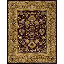 Safavieh Handmade Classic Regal Burgundy/ Gold Wool Rug (9'6 x 13'6)