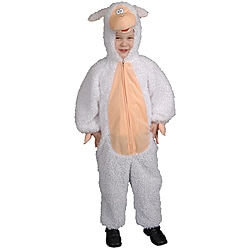 Toddler Boy's Plush Lamb Costume