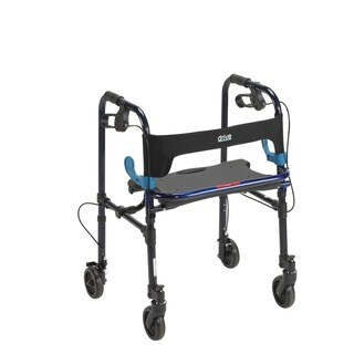 Drive Deluxe Clever Lite Rollator Walker with 5-inch Casters