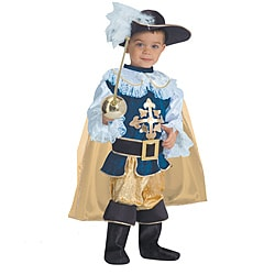 Children's Deluxe Musketeer Costume