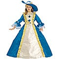 Girl's Majestic Blue Princess Costume