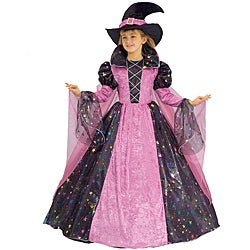 Girl's Deluxe Witch Costume