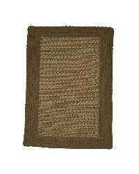 Donegal Indoor/ Outdoor Olive and Natural Braided Rug (8' x 11')