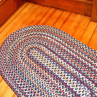 Watch Hill Multi-color Indoor/ Outdoor Braided Rug (3' x 5')