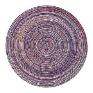 Watch Hill Multi-color Indoor/ Outdoor Braided Rug (8' Round)
