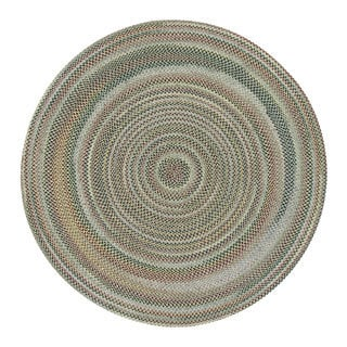 Watch Hill Bay Leaf Indoor/ Outdoor Braided Rug (8' Round)