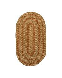 Beacon Hill Camel Indoor / Outdoor Braided Rug (3' x 5')