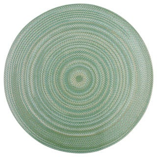Watch Hill Sage Braided Rug (8' Round)