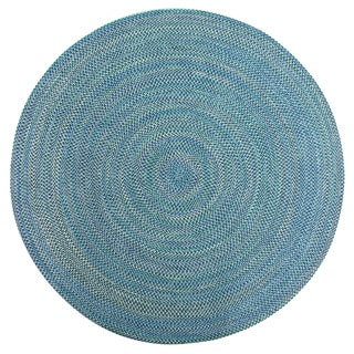 Smithfield Multi Color Indoor/ Outdoor Braided Rug (8' Round)