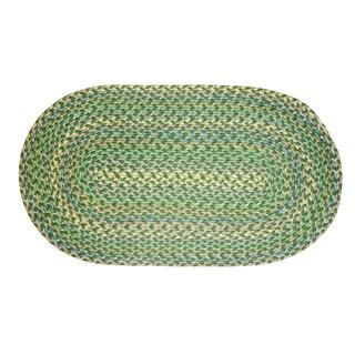 Smithfield Green Indoor/ Outdoor Braided Rug (8' x 11')
