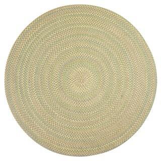 Smithfield Green Indoor/ Outdoor Braided Rug (8' Round)