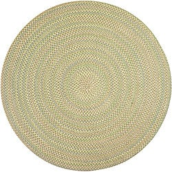 Smithfield Green Indoor/ Outdoor Braided Rug (8' Round)
