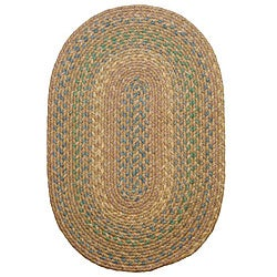 Smithfield Taupe Indoor/ Outdoor Braided Rug (8' x 11')