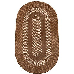 Middletown Brown Indoor/ Outdoor Braided Rug (8' x 10')