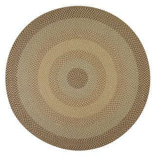 Pinehurst Natural Wool Braided Rug (6' Round)