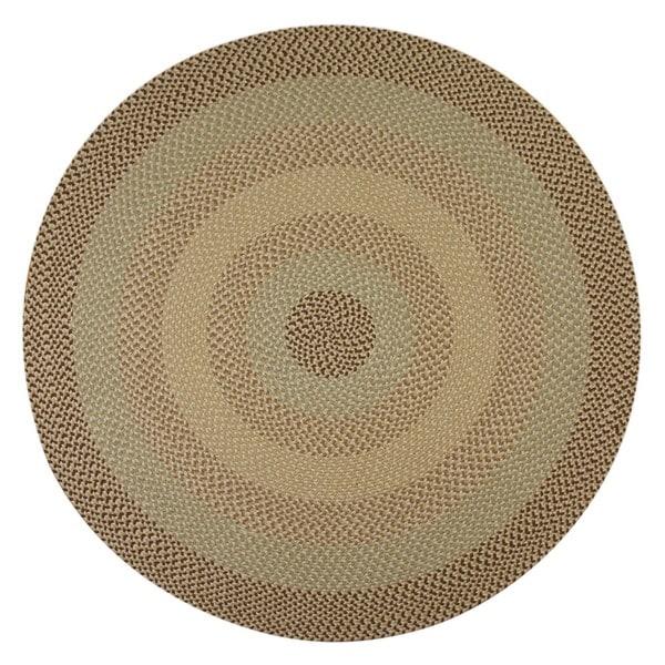Pinehurst Natural Wool Braided Rug (6' Round)